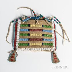 Miniature Plains Beaded Possible Bag,