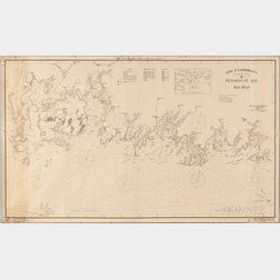 Geo. W. Eldridge's Chart -G- Penobscot Bay to Machias.