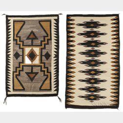 Two Navajo Regional Weavings