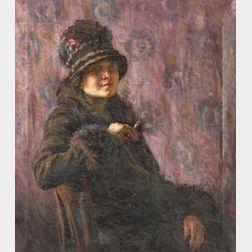 Gertrude Nason (American, 1890-1968)    The Visitor