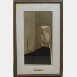 Color Collotype After Andrew Wyeth Cooling Shed