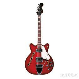 American Electric Guitar, Fender Electric Instruments, 1968-69, Model Coronado II