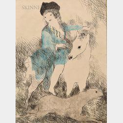 Marie Laurencin (French, 1883-1956)      La promenade á cheval