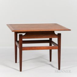 Finn Juhl (1912-1989) for France & Son Rosewood Side Table