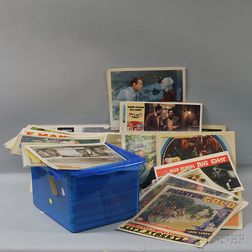Large Group of Assorted Movie Theatre Lobby Cards