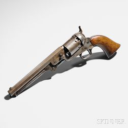 Colt Model 1851 Navy Revolver Inscribed to Louis T. Wigfall from Joseph E. Johnston