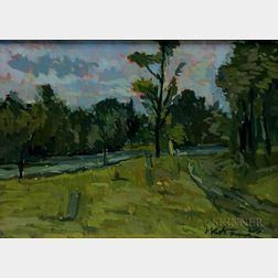 Michael Waterman (American, b. 1947)      West End Cemetery