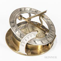 Negretti & Zambra Brass Universal Sundial