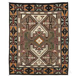 Navajo Regional Pictorial Weaving