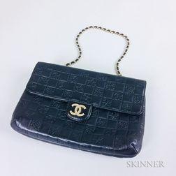 Chanel Black Leather Handbag
