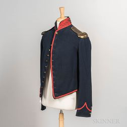 Artillery Shell Jacket and Brass Shoulder Scales