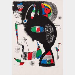 Joan Miró (Spanish, 1893-1983)      42, Rue Blomet