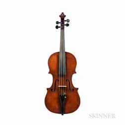 American Violin, John White, Barre, 1863