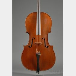 French Violoncello, J.B. Collin-Mezin, Mirecourt, c. 1920
