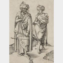 Albrecht Dürer (German, 1471-1528)      The Turkish Family