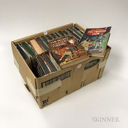 Twenty-four Early Franklin Dixon Hardy Boys Books.     Estimate $500-700