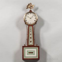 "Elmer O. Stennes ""Willard"" Patent Timepiece or ""Banjo"" Clock with 1966-167 Original Price Guide"