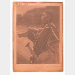 Edward Curtis (American, 1868-1952)      Kamagwaih-Cascade