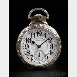 Hamilton Model 992 E 16 Size 21-jewel Open Face Watch