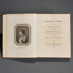 Thomson, Thomas (1773-1852) Travels in Sweden, during the Autumn of 1812.