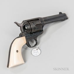 Engraved Colt Single-action Army Revolver