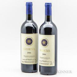 Tenuta San Guido Sassicaia 2006, 2 bottles
