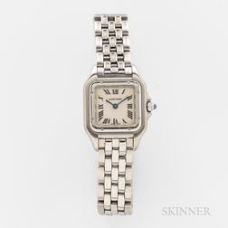 """Cartier Stainless Steel """"Panthere"""" Reference 1320 Wristwatch"""