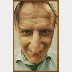 Teunn (Nijkamp) (Dutch, b. 1943)  Portrait of a Man