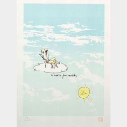 John Lennon (British, 1940-1980)    Lot of Two Works:  He Tried to Face Reality