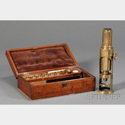 Martin-type Drum Microscope by Fairey & Son