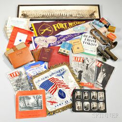 Group of WWII Personal Items