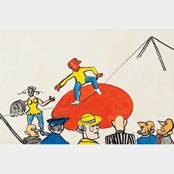 Alexander Calder (American, 1898-1976)      Profils