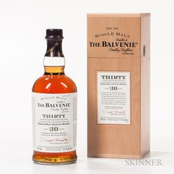 Balvenie Thirty 30 Years Old, 1 750ml bottle (owc)