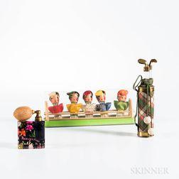 Three Vintage Figural Perfumes
