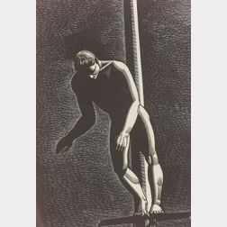 Rockwell Kent (American, 1882-1971)  Diver