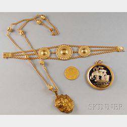 Four Jewelry Items