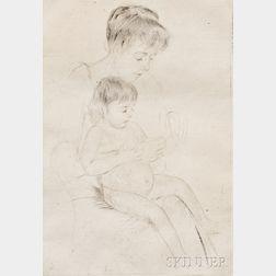 Mary Cassatt (American, 1843-1926)      The Manicure
