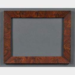 Grain-painted Mitered Wood Frame
