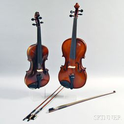 Full-size Student Violin and a Viola