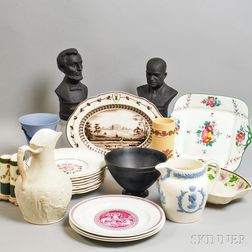 Twenty-two Wedgwood and Related Items