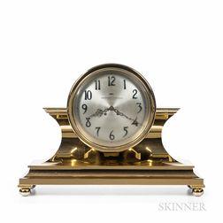 Impressive 10-inch Chelsea Tambour No. 1 Brass Clock