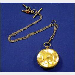 Antique 18kt Gold Pocket Watch