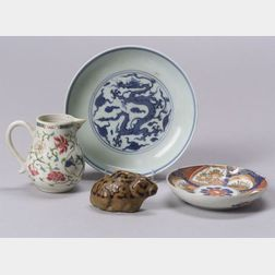 Four Chinese Ceramic Items