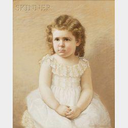 Eva Dora Cowdery (American, 19th/20th Century)      Portrait of Shepard Pond at Age 3