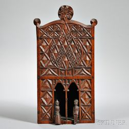 Chip-carved Puppet Box