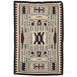 Large Navajo Storm Pattern Rug