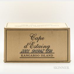 Cape dEstaing Kangaroo Island Shiraz 2001, 6 bottles (oc)