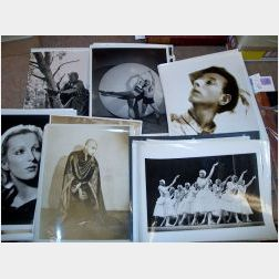 Approximately Fifty-two C. 1930s Ballet and Dance Promotional Photographs and   Ephemera