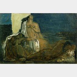 Jean Souverbie (French, 1891-1981)    La Nuit