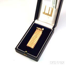 18kt Rose Gold-cased Dunhill Silver Aldunil/Sylphide Lighter